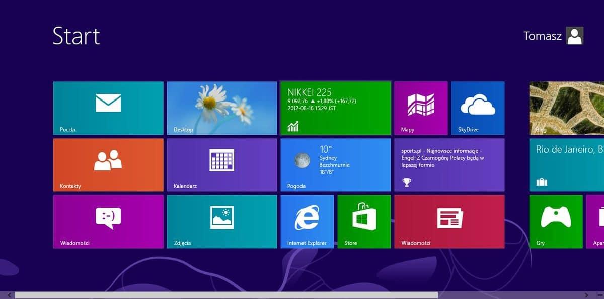 Windows 8 Metro Modern UI