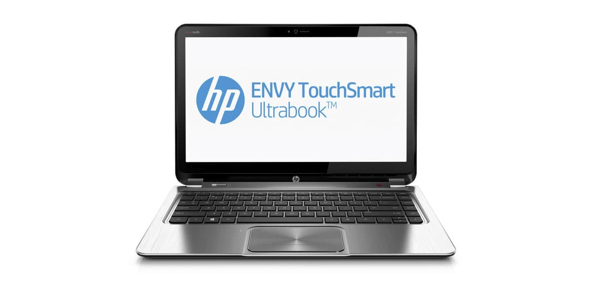 HP ENVY TouchSmart 4 front