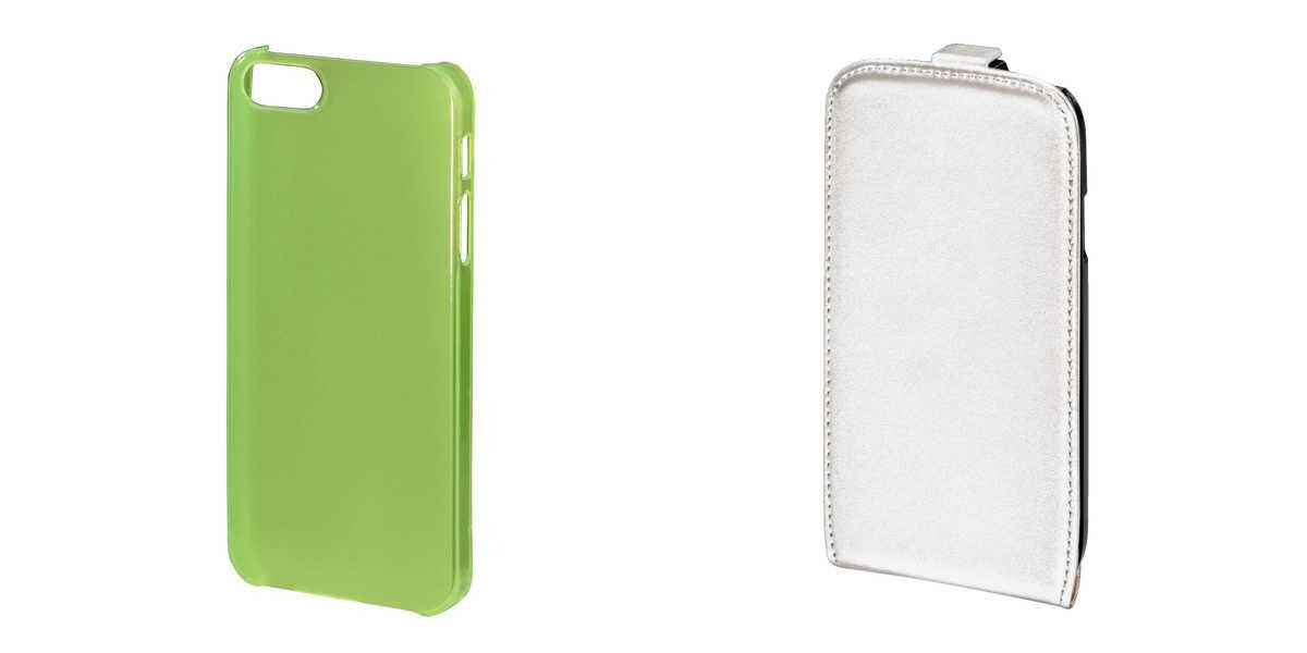 Zielone i białe etui na iPhone'a Flip Case