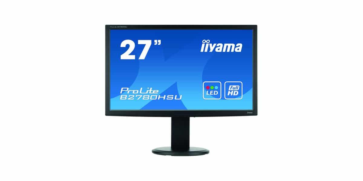 Monitor iiyama B2780HSU front