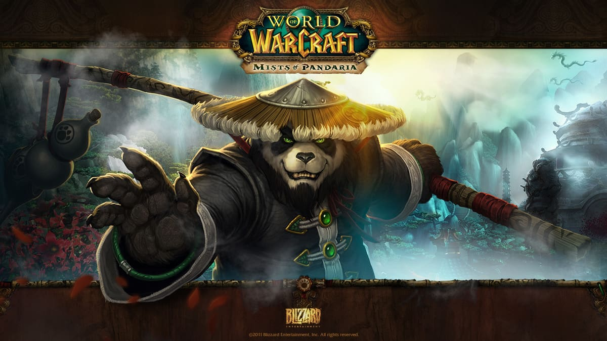World of Warcraft Mists of Pandaria logo