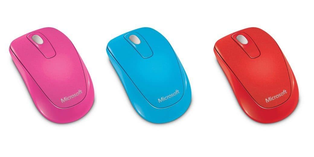 Limitowana edycja Microsoft Wireless Mobile Mouse 1000