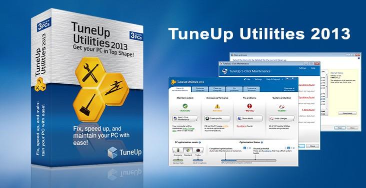 TuneUp Utilities 2013 banner
