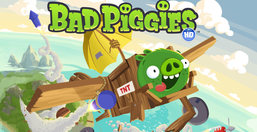 Bad Piggies splash