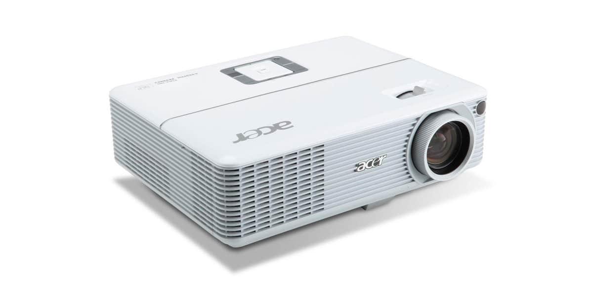 Acer H6500 pod skosem
