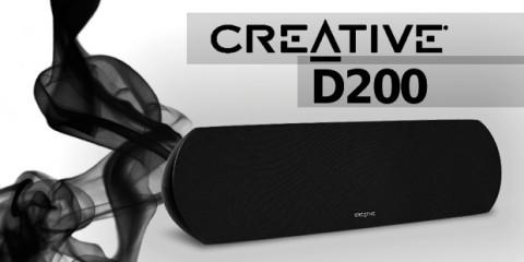 Creative D200 test