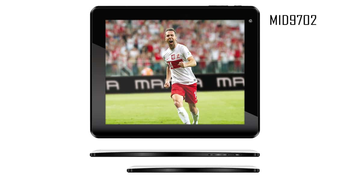 Tablet Dual Power 9.7' HD MID9702