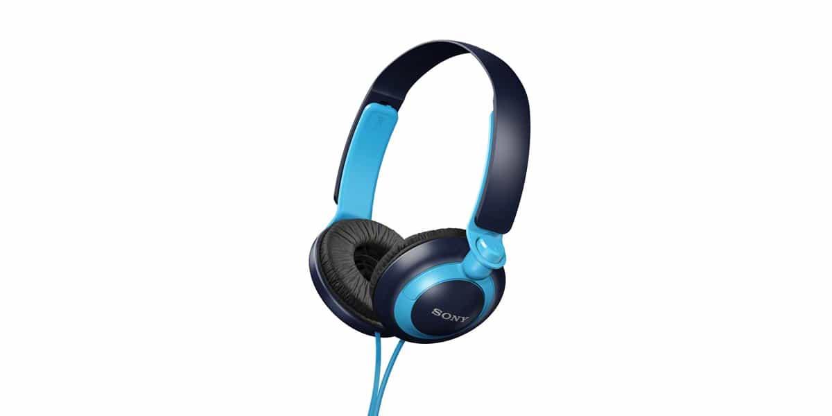 Sony MDR-XB200 niebieskie