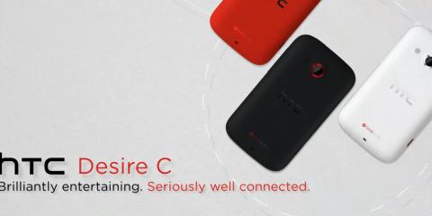 HTC Desire C advert