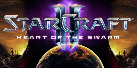 Starcraft II Heart of The Swarm logo