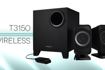 Creative t3150 wireless test
