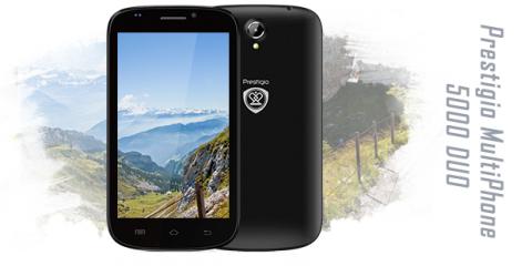 Prestigio MultiPhone 5000 DUO test