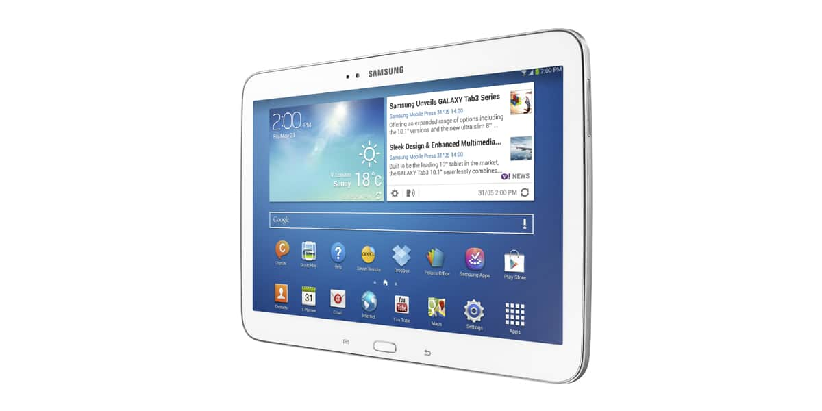 tablet GALAXY Tab 3 10.1 cala