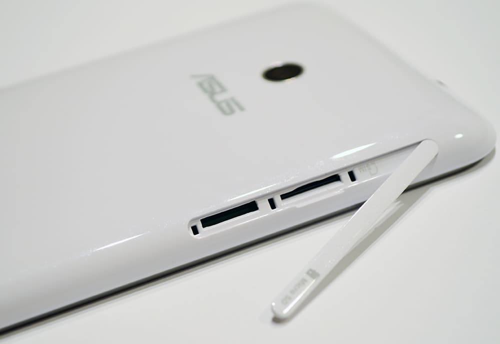 ASUS Fonepad Note 6 sloty