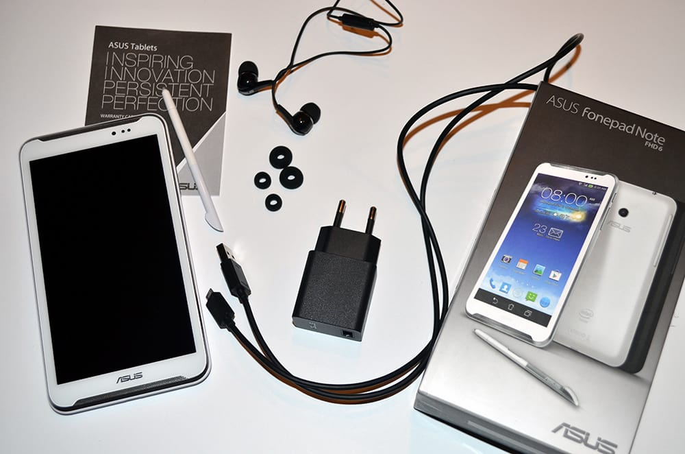 ASUS Fonepad Note 6 zestaw