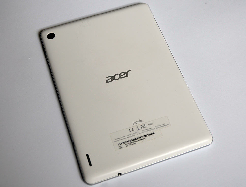 Acer Iconia A1 caly