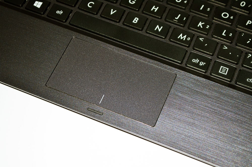 ASUS T100 touchpad