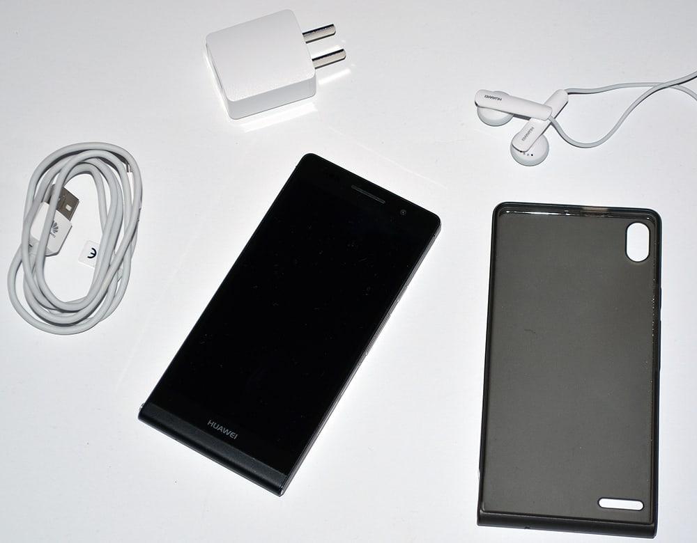 Huawei Ascend P6 smartfon zestaw