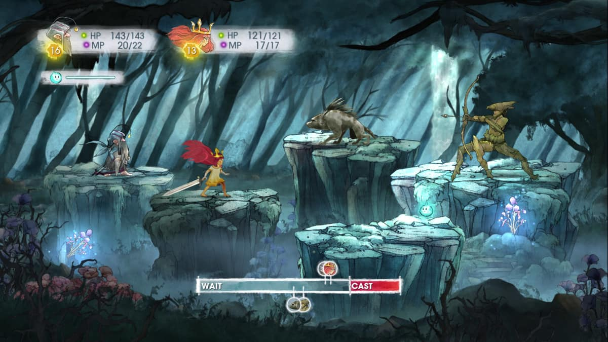 Child of Light walka