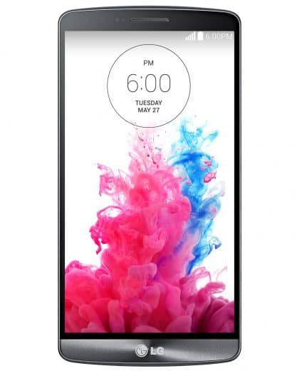 LG G3 front