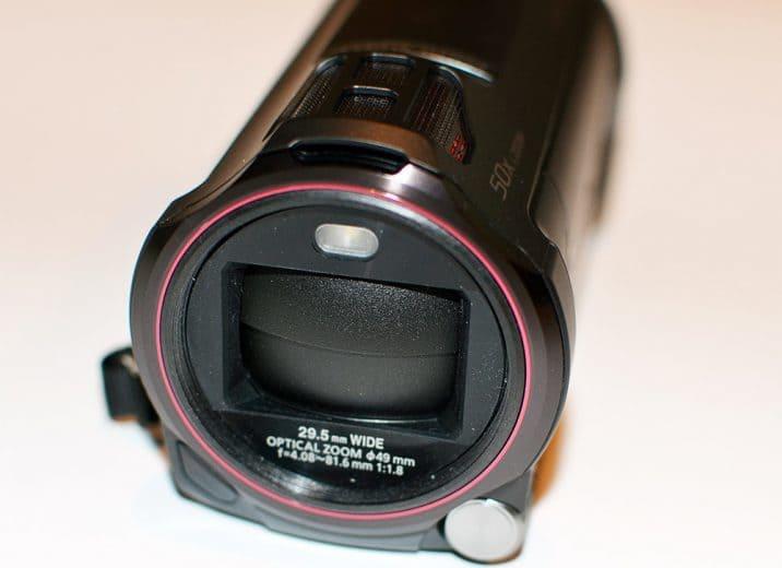 Panasonic HC-W850 obiektyw