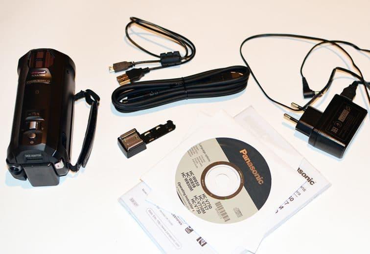Panasonic HC-W850 zestaw