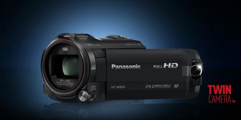Panasonic W850 test kamery