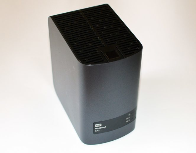 WD My Cloud EX2 front