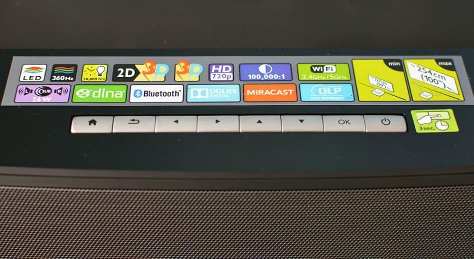 Philips Screeneo test przyciski