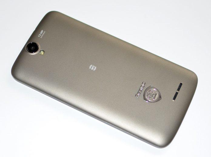 Prestigio MultiPhone 7600 DUO back