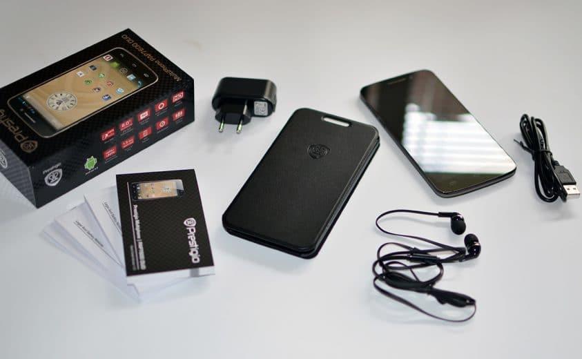 Prestigio MultiPhone 7600 DUO pudelko