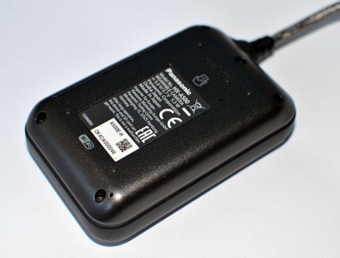 Panasonic HX-A500 spod