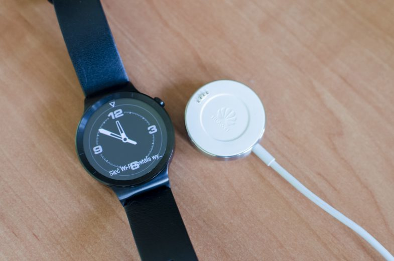 Huawei Watch test ladowarka
