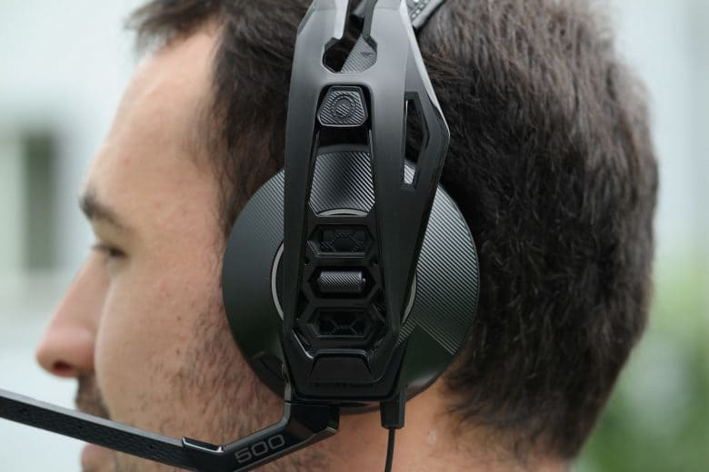 Plantronics RIG500E test ergonomia