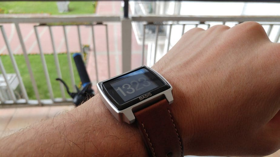 smartwatch Basis Peak pulsometr